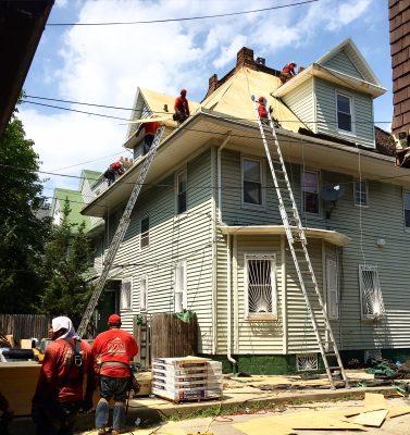 Rockaways contractor on Roof