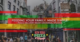 Feeding Your Family Pizza Delivery Near Universal Studios