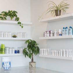 Beauty products at our salon and spa - Oasis By Plush