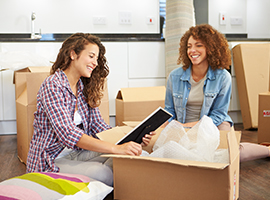 Our experts movers at Ocean Moving & Storage create a fun moving atmosphere.