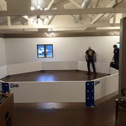 Octopit gaga ball pit indoor assembly