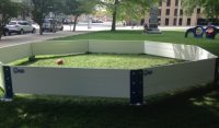 Octopit USA gaga ball pit outdoors