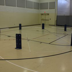 Initial set up of Octopit for Gaga Ball