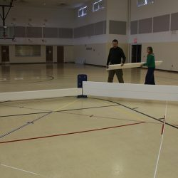 Assembly of Octopit USA gaga ball pit
