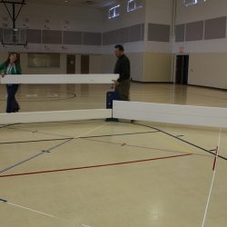 Octopit USA indoor Gaga pit assembly