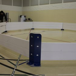 Octopit USA gaga ball pit assembly