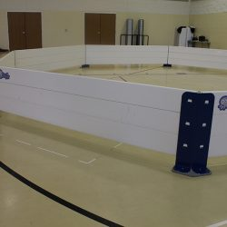 Octopit indoor gym for gaga ball