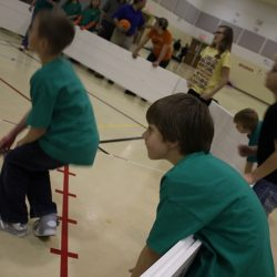 Indoor octoball with Octopit USA gaga ball pit