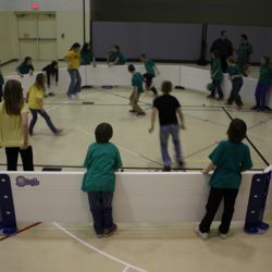 Children's indoor gaga game with Octopit USA