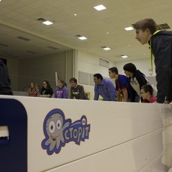 Octopit USA indoor game of Gaga ball