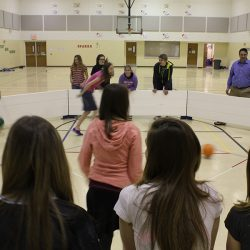 Gaga ball in action with Octopit USA