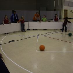 Octoball indoors in Octopit USA.