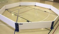 Gaga pit indoor setup of Octopit USA