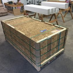 Octopit USA gaga ball pits equipment packaged.