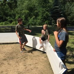 What is gaga ball kids outdoor play equipment