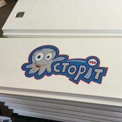 Octopit USA gaga ball pit panel for octoball