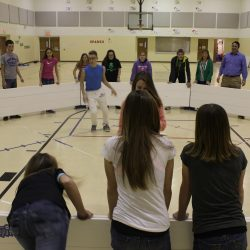 Octoball – Gaga ball game in action.