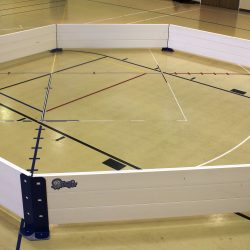 Octopit USA gaga ball pit.