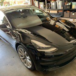2017 Black Tesla Model 3 Opti-Coat Pro