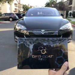 2017 Metallic Black Tesla Model s Opti-Coat Pro