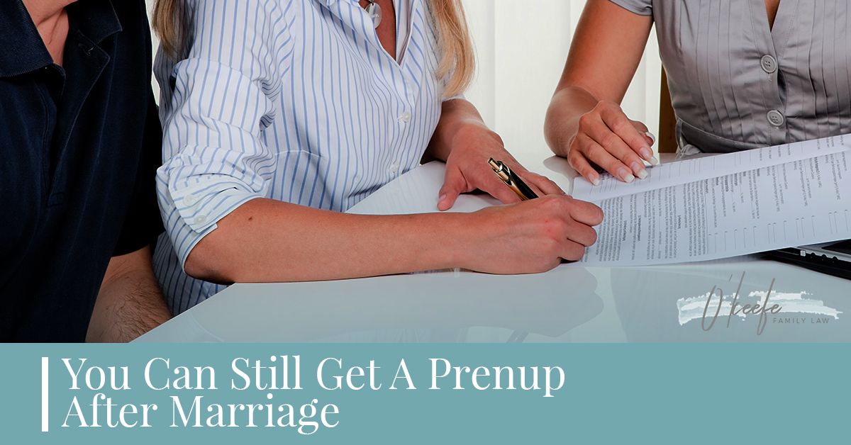 Use An Experienced Divorce Law Attorney In Columbus To Get A Postnup