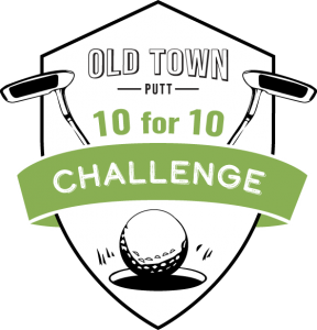 Old Town Putt 10 for 10 Challenge logo