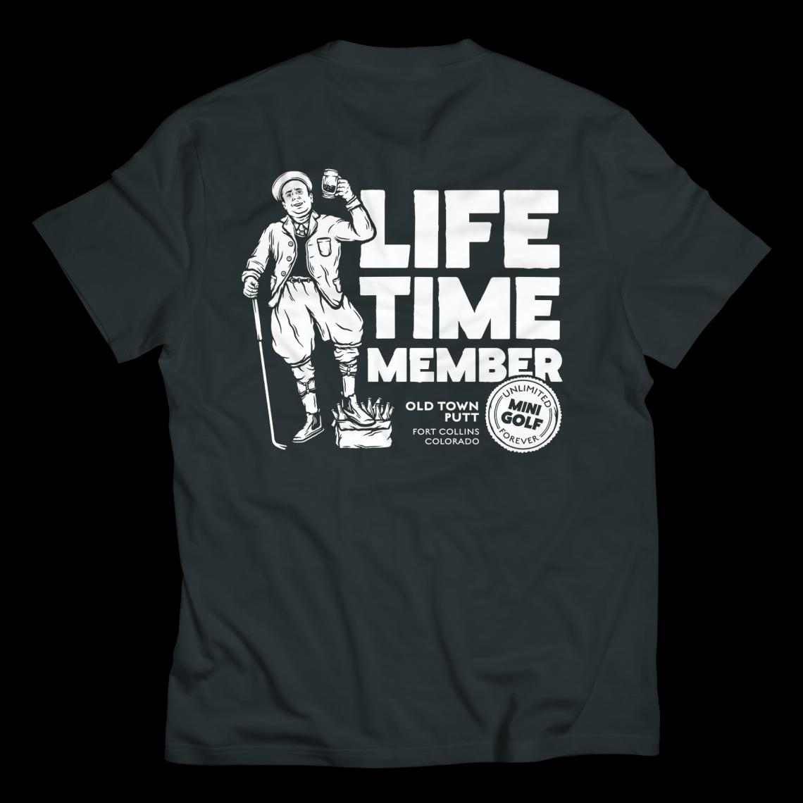 Old Town Putt Lifetime Member Shirt
