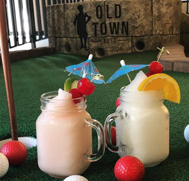 Old Town Putt Drinks