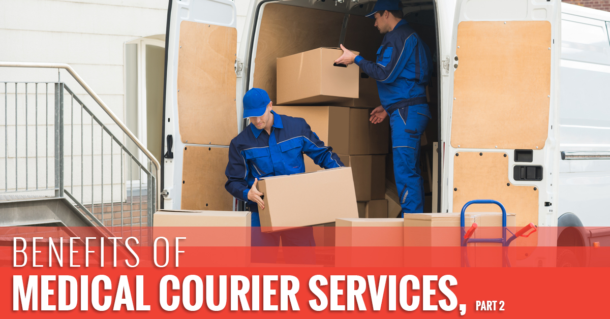 Courier Service Phoenix: Benefits Of Medical Courier