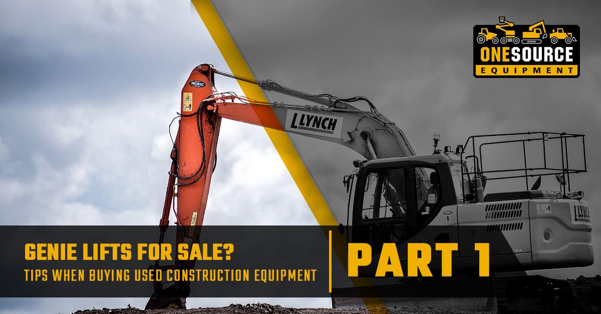Construction Equipment Throckmorton: Tips When Buying Used