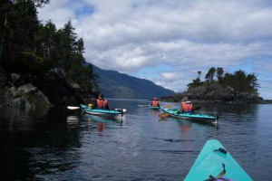 Exploring Johnstone Strait by Kayak