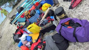 Kayaking and Camping gear