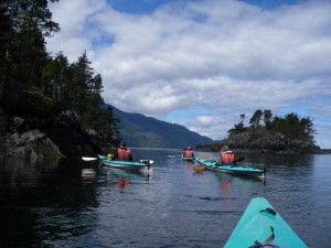 A sea kayaking family adventure on Vancouver Island
