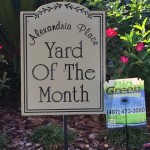 Yard of the Month~Thanks Bio Green of Orlando!