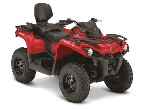 "Can Am Outlander Max 2 person 50""trail model"