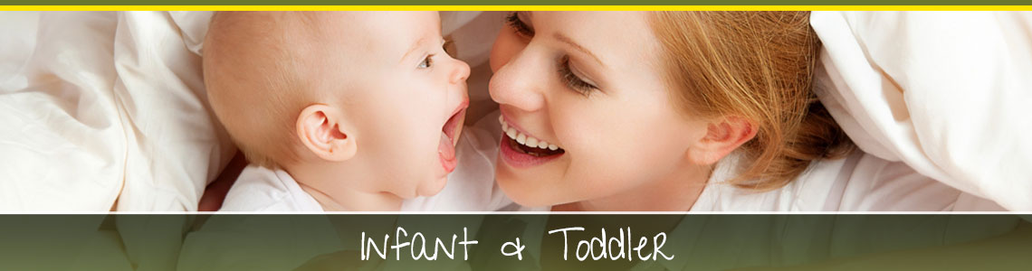 Infant child services and toddler daycare in Fremont