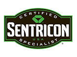 certified sentricon specialist badge for pest control