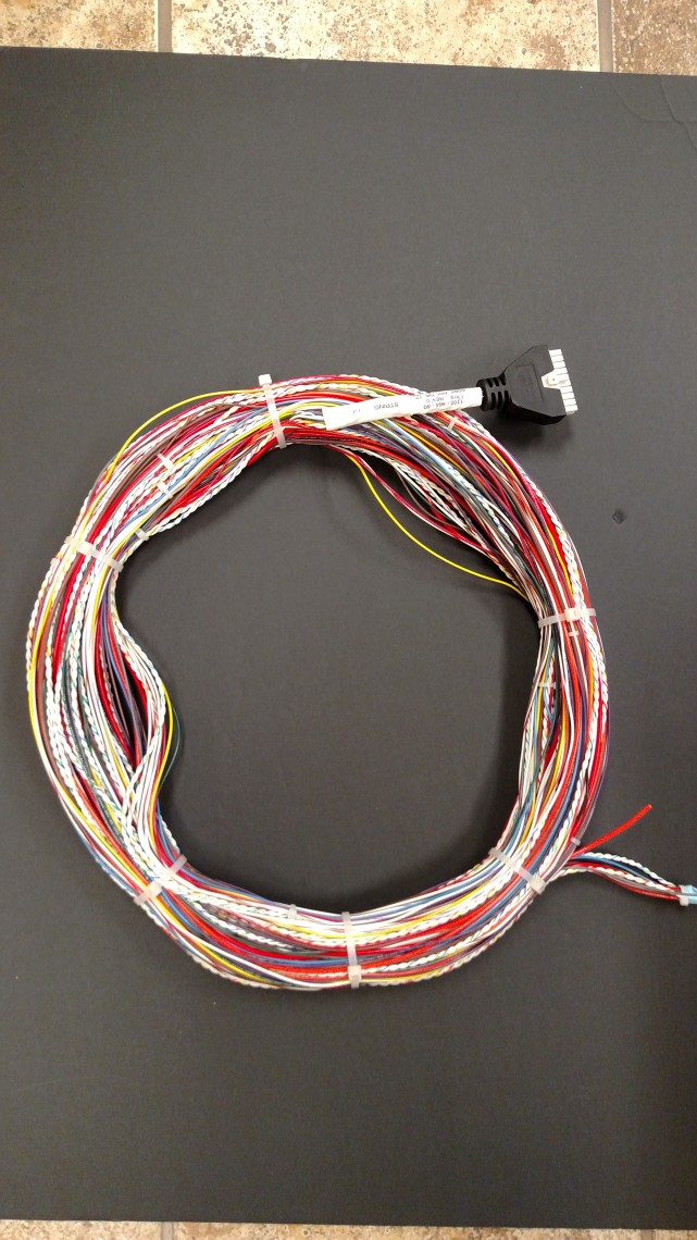 long custom cable with molded connector and printed label 641x1140 cable assembly wires and cables automotive wiring harness wiring harness ls1 at soozxer.org