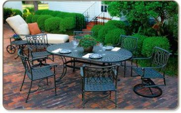 Atlanta's premier source for aluminum patio furniture.