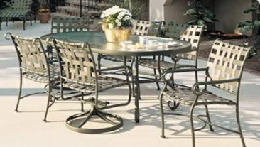 Save more on our aluminum patio tables in Atlanta.