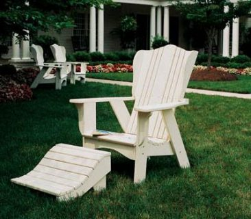 Shop Parr's for affordable wood patio furniture.
