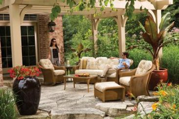 Stop by our stores to save more on outdoor wicker furniture.
