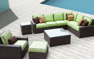 Name brand outdoor wicker furniture for less