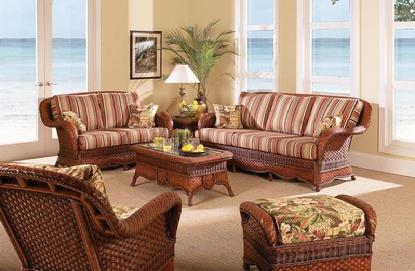 Indoor Wicker Furniture Alpharetta | Rattan Sofa Lawrenceville ...