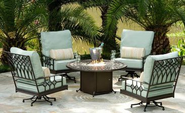 Your source for aluminum patio furniture.