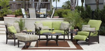 Shop Parr's for the best aluminum outdoor furniture.