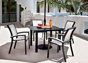 Parr's is your source for affordable aluminum patio furniture.