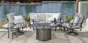 Atlanta's source for quality, affordable aluminum patio furniture.