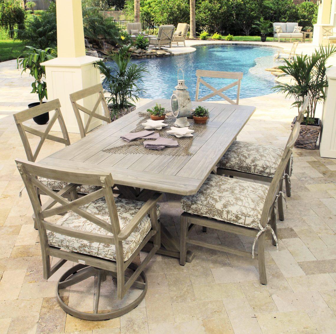 Aluminum patio furniture atlanta aluminum outdoor for Outdoor furniture atlanta