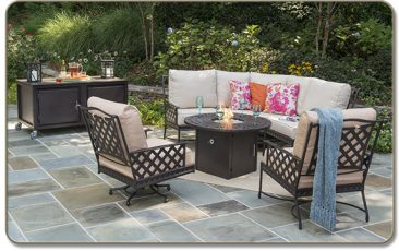 Turn to Parr's for affordable, high-quality aluminum patio furniture.
